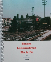 Steam Locomotives book